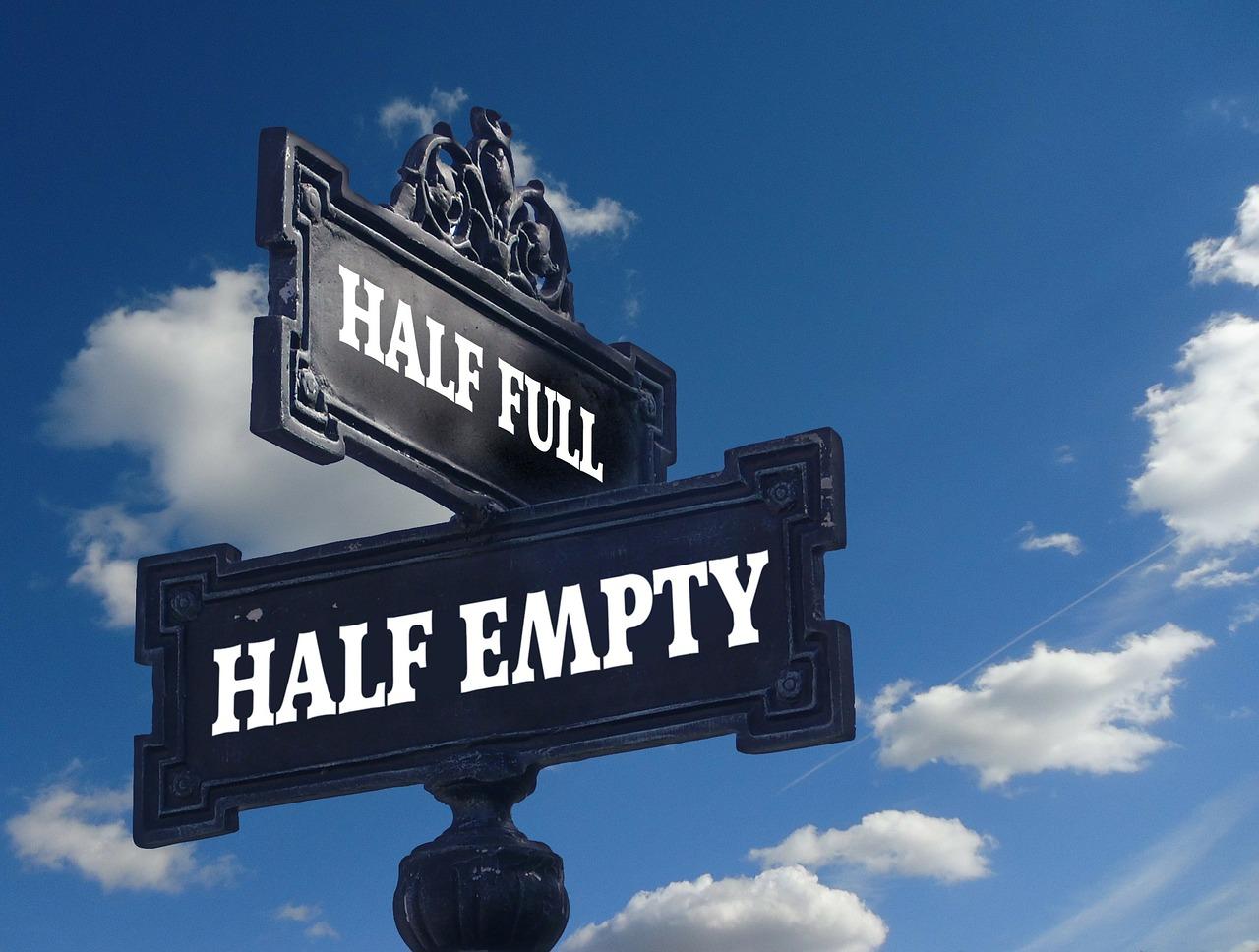 half-full-half-empty-sign