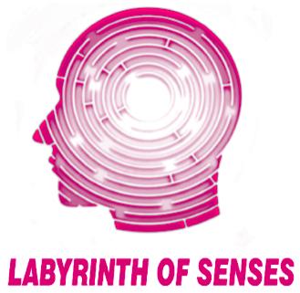 Λογότυπο οργάνωσης Labyrinth of Senses