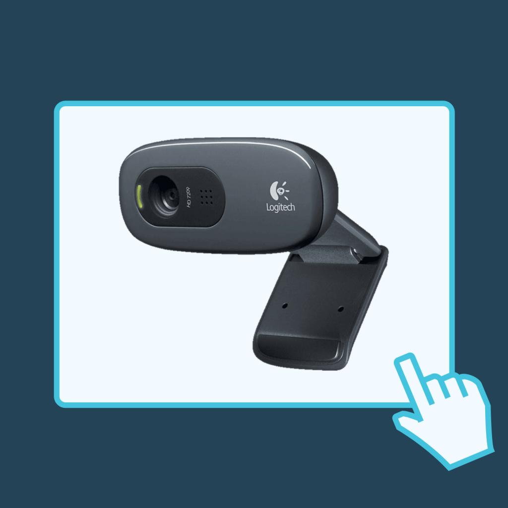Logitech webcam web camera κάμερα τηλεργασία τηλεκπαίδευση