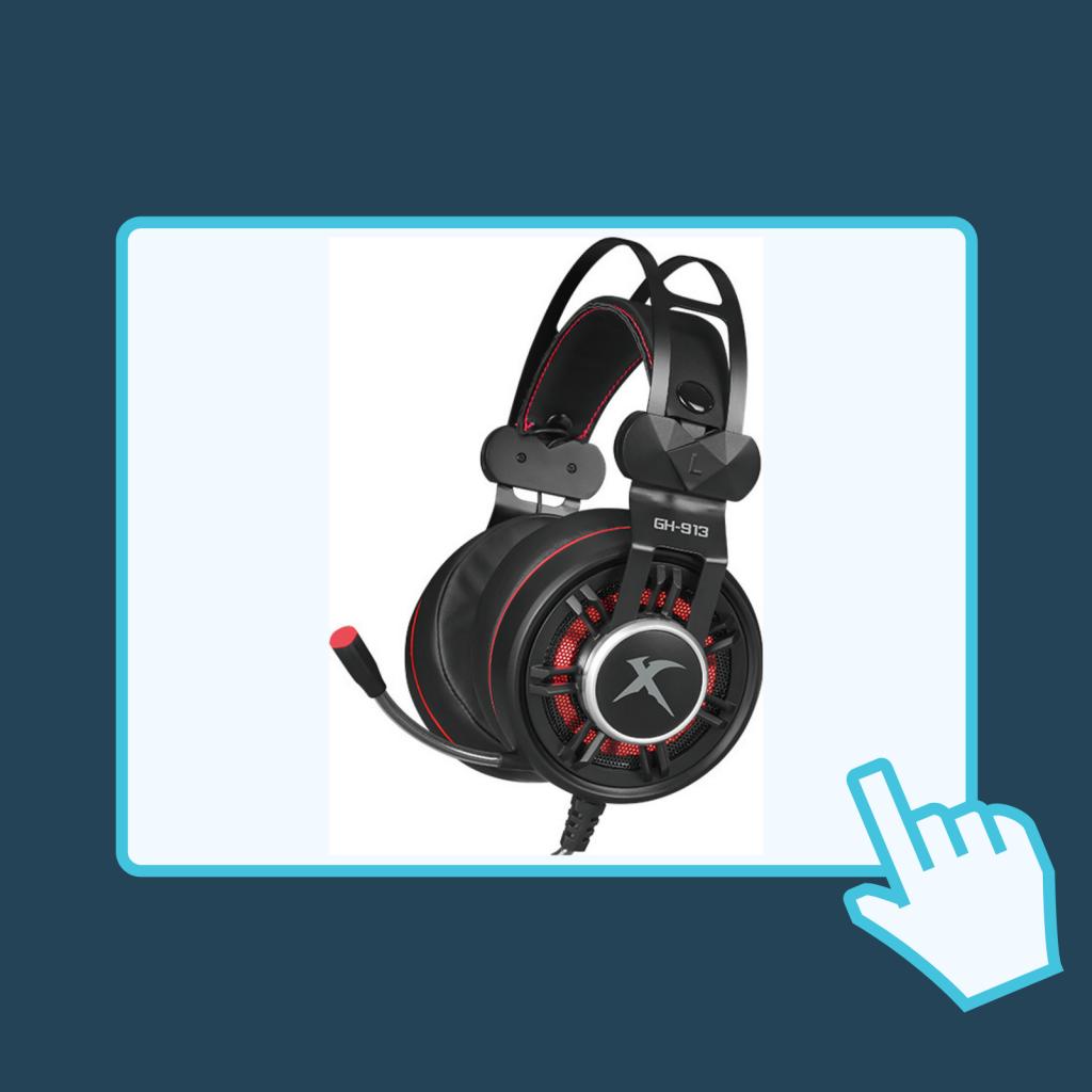 Gaming headset ακουστικά Gamer